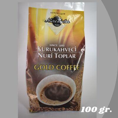 KURUKAHVECİ NURİ TOPLAR GOLD COFFEE 100 GR.
