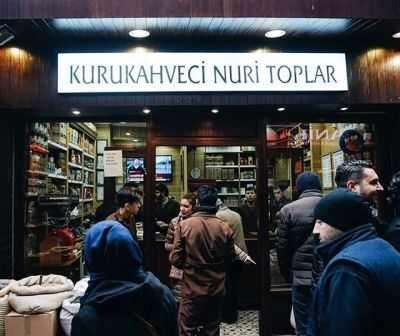 Kurukahveci Nuri Toplar Türk Kahvesi 250 gr. (4 ADET)